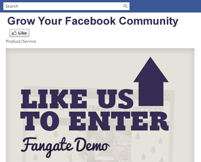 Facebook Promos and Photo Contests
